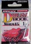 Крючки DECOY Dream Hook Worm 15