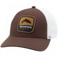Кепка Simms Trout Patch Trucker Bark