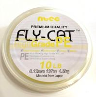 Шнур Ntec FlyCat Yellow 137м 0.08мм 1.8кг